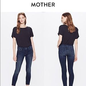 """MOTHER SKINNY JEANS """"THE LOOKER"""" IN """"HERE KITTY KITTY"""" SIZE 26"""